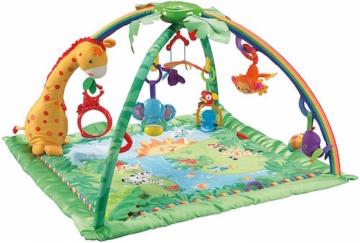 Babygym Mattel Fisher-Price K4562 Rainforest Erlebnisdecke