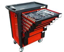 Bensontools Werkzeugwagen inklusive Werkzeug mit über 500 Teilen