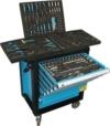 DeTec. Werkstattwagen blue Edition mit Inhalt