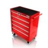 Holzinger Werkzeugwagen HWW in Rot mit Rollen