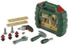 Theo Klein 8384 - Bosch Werkzeugkoffer Ixolino mit verschiedenen Werkzeugen für Kinder