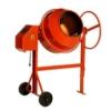 LESCHA elektrischer Zementmischer mit 130 Litern Trommelfüllung