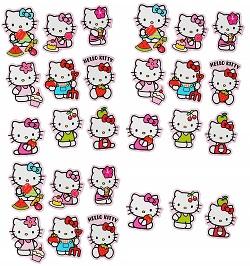 Hello Kitty Set beispielsweise fürs Stickeralbum