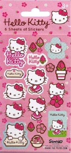 Hello Kitty Blumen Sticker Pack