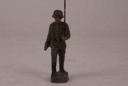 Lineol Elastolin Soldat Wehrmacht