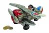 Reisekasse Flugzeug Kunststoff